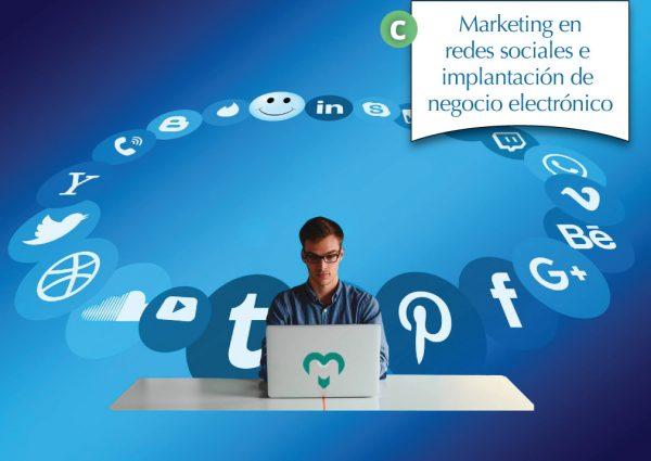 Marketing en redes sociales e implantación de negocio electrónico