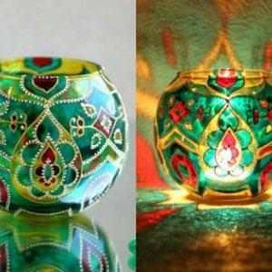 Decoración Artesanal de vidrio