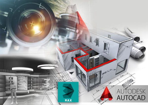 Autocad 2008 + 3ds Max V9